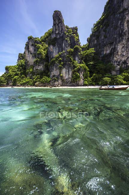 Thailand, Koh Phi Phi Don, Boat trip — Stock Photo