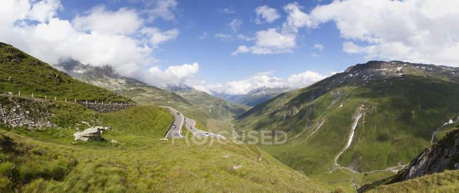 Swirteland, Grisons, Oberalp перевал — стокове фото