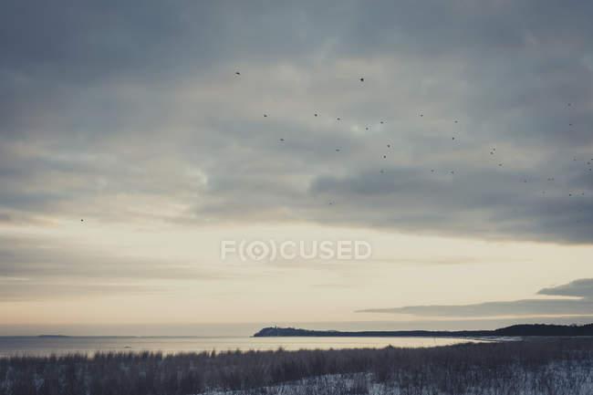 Allemagne, Mecklembourg-Poméranie occidentale, Ruegen en hiver — Photo de stock