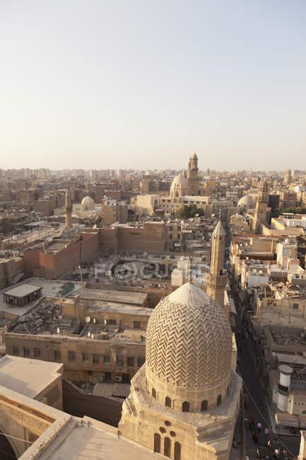 Мечеть з Старого міста дахів — стокове фото