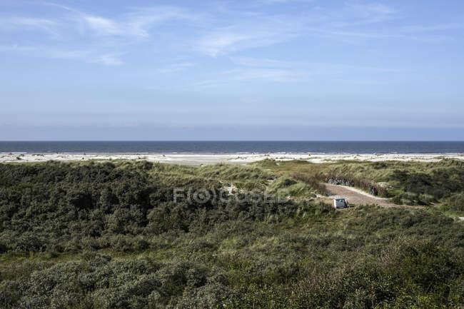 Netherlands, North Sea coast landscape — Stock Photo