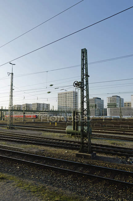 Germany, Bavaria, Munich, Train near main station — Stock Photo