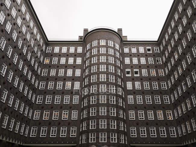 Exterior of Sprinkenhof building — Stock Photo