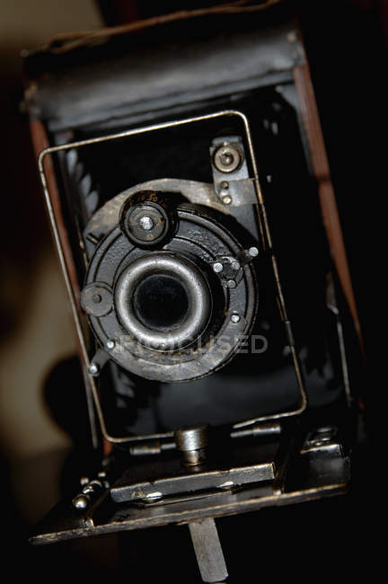 Close up of antique camera — Stock Photo