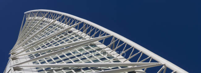 View of Turning Torso building against blue sky — Stock Photo