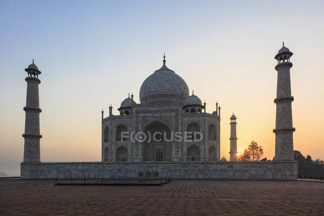 Taj mahal all'alba — Foto stock
