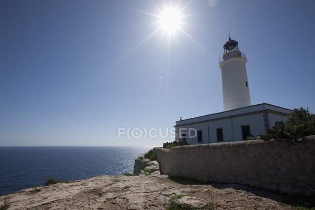 Far de la Mola lighthouse — Stock Photo