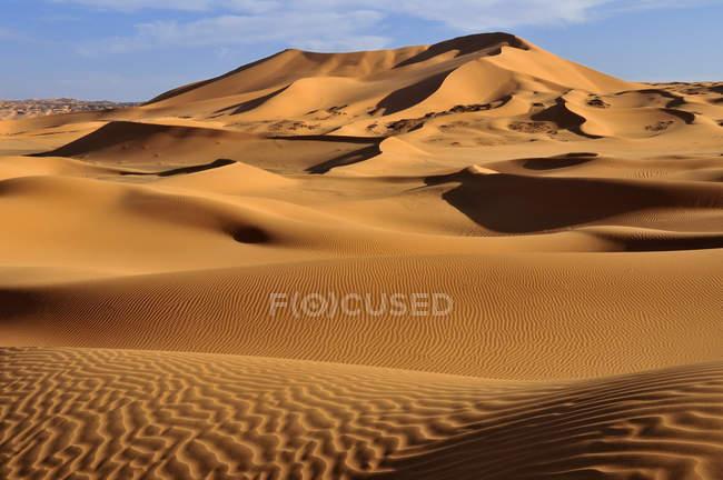 Algeria, Sahara, View of sand dunes — Stock Photo