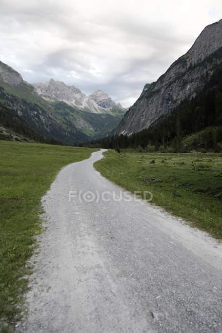 Germania, Baviera, Veduta dei monti Nebelhorn — Foto stock