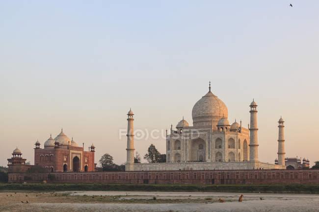 Veduta di Taj Mahal — Foto stock