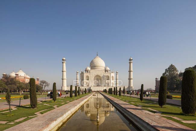 View of Taj Mahal — Stock Photo