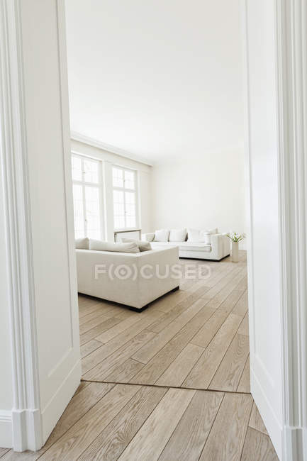 Intérieur de salon moderne — Photo de stock