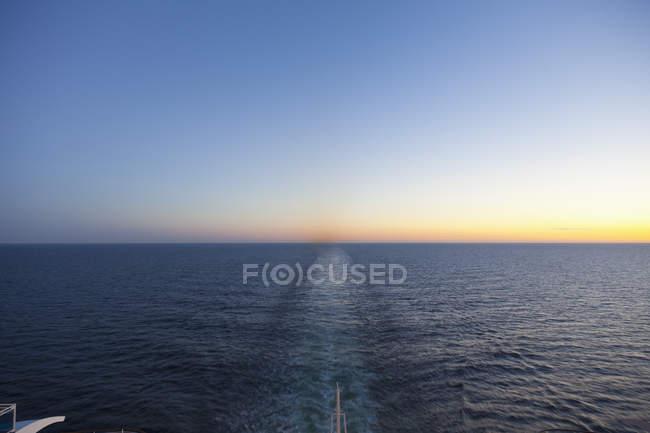 Балтийское море, круизные лайнеры между Россией и Финляндией — стоковое фото