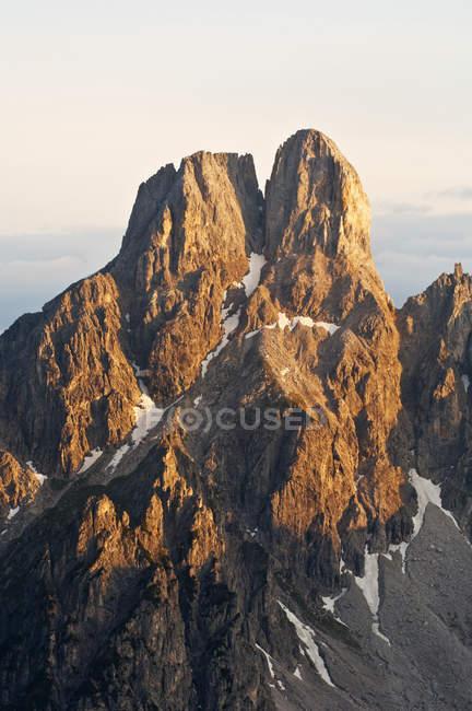 Австрия, Зальцбург Каунти, вид горы Bischofsmutze — стоковое фото