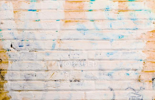 Vue du mur de briques, gros plan — Photo de stock