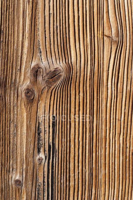 Deutschland, alte fichtenholzplatte, nahaufnahme — Stockfoto