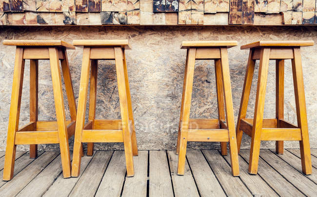 Portugal, Close up of stools — Stock Photo