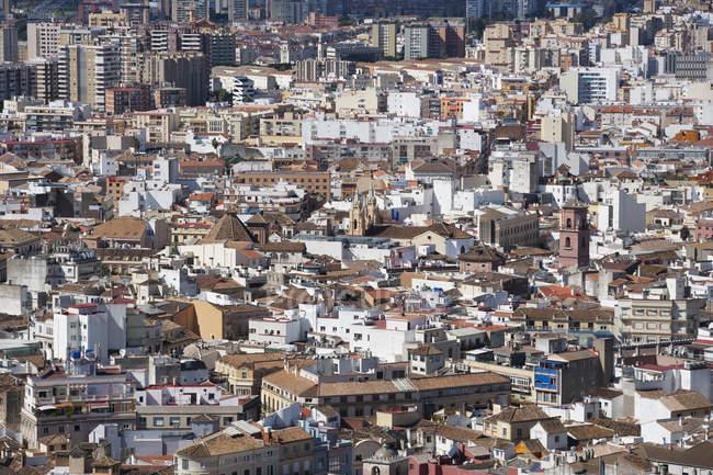 Espanha, Málaga, paisagem urbana durante o dia — Fotografia de Stock