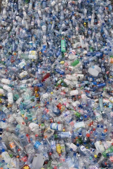 Germany, Empty plastic bottles recycling — Stock Photo