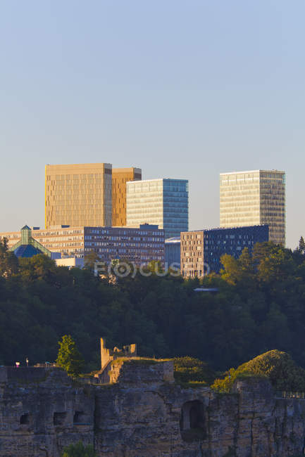 Luxembourg, View of office buildings during daytime — Stock Photo