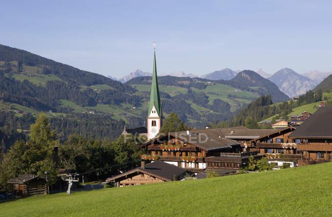 Church in Alpbachtal Valley — Stock Photo