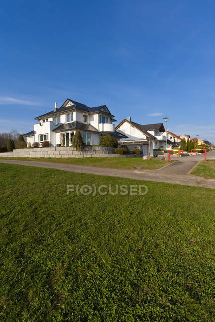 Germany, Baden Wurttemberg, Lorch, View of different family homes — Stock Photo