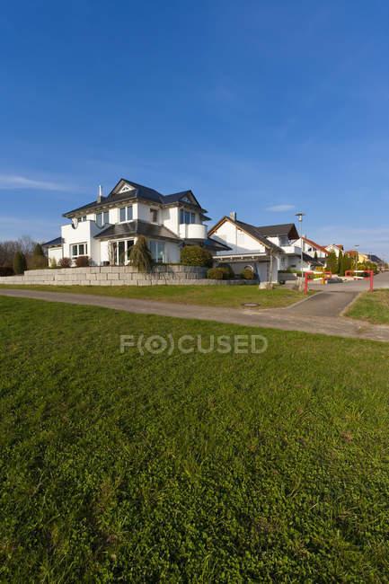 Alemanha, Baden Wurttemberg, Lorch, Vista de diferentes casas de família — Fotografia de Stock