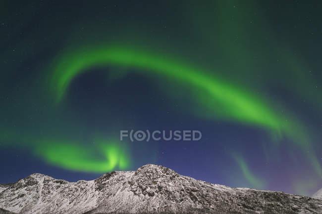 Aurora Borealis вблизи Осо — стоковое фото