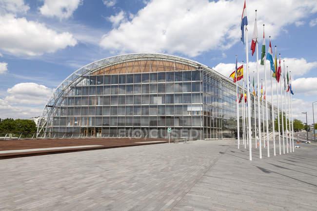 Luxemburg, Luxemburg-Stadt, Viertel, Europäische Investitionsbank — Stockfoto