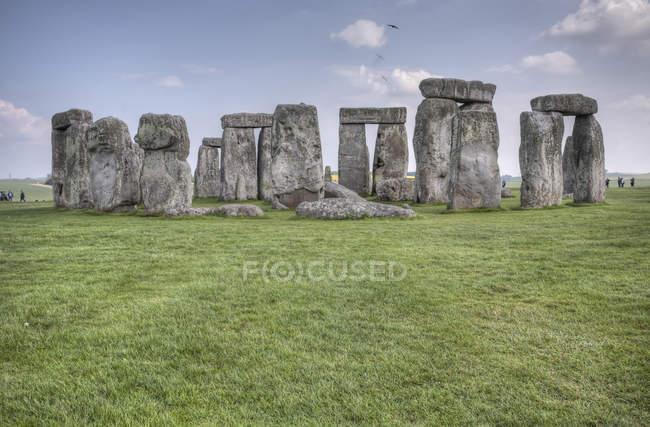 United Kingdom, England, Wiltshire, View of Stonehenge  during daytime — Stock Photo