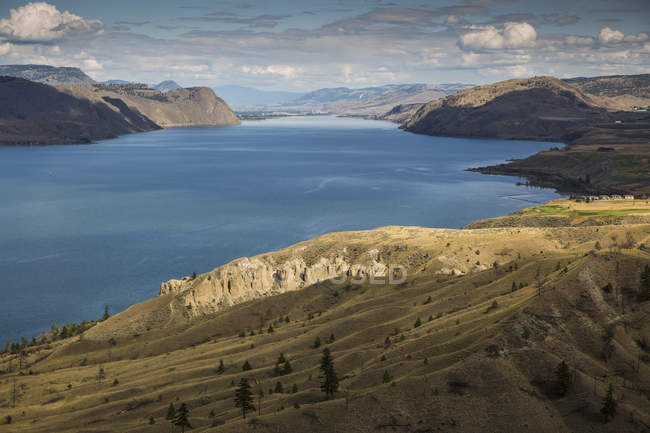 Canada, British Columbia, Summer at Kamloops Lake — Stock Photo