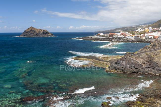 España, Islas Canarias, Tenerife, Garachico municipio en la costa norte - foto de stock
