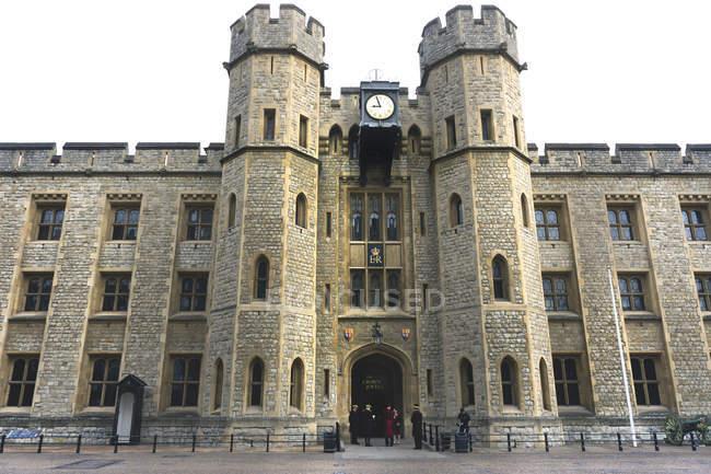 Gran Bretagna, Inghilterra, Londra, Torre di Londra, Waterloo Block, Jewel House — Foto stock