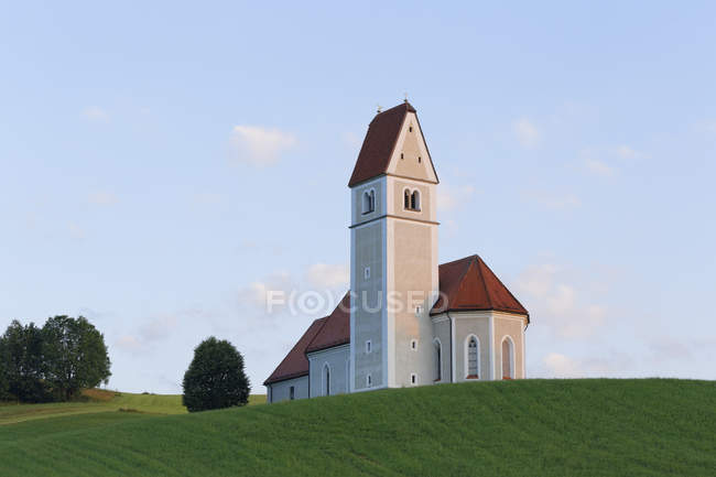 Germany, Bavaria, pilgrimage church St. Florian in Greimelberg — Stock Photo