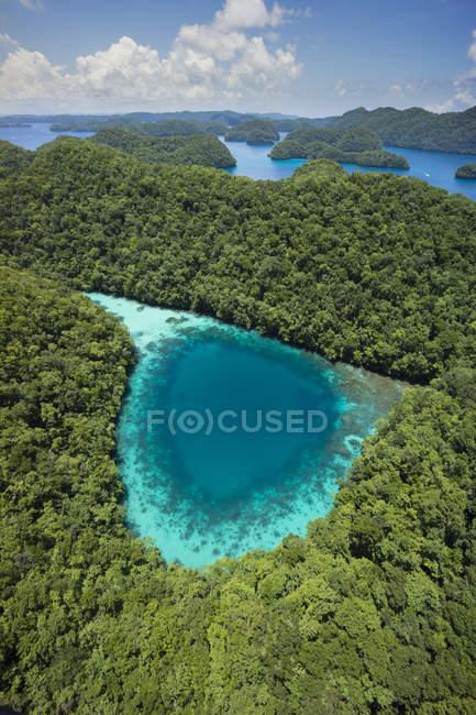 Micronésie, archipel des Palaos dans l'océan — Photo de stock