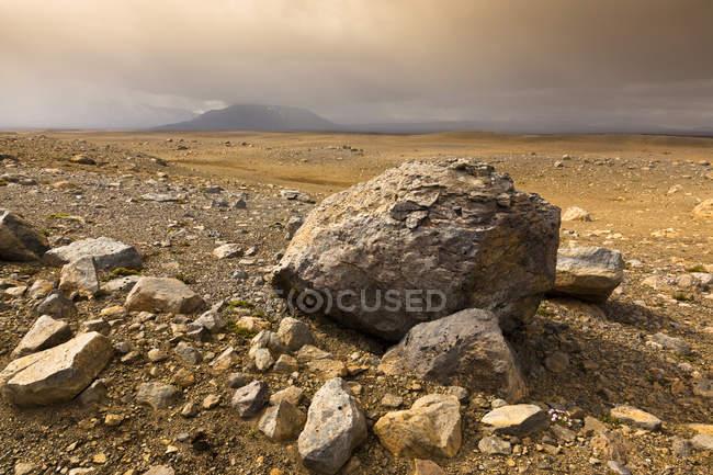 Island, Highlands of Iceland during daytime — Stock Photo