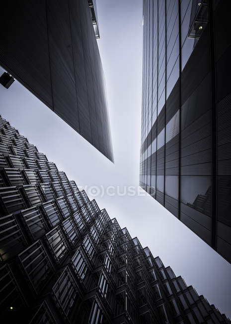 UK, London, Office buildings in More London — Stock Photo