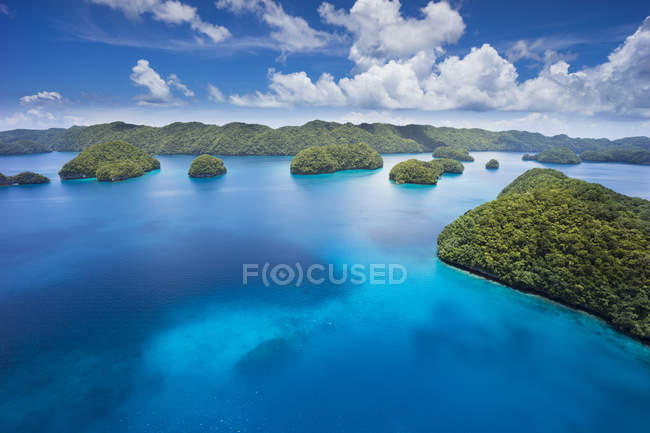 Micronesia, Palau, archipelago in the ocean  during daytime — Stock Photo