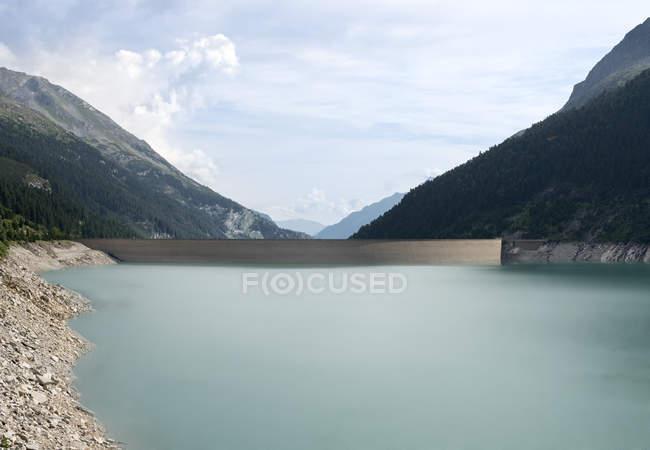 Austria, Tirol, Zillertal, Schlegeis-reservoir  during daytime — Stock Photo