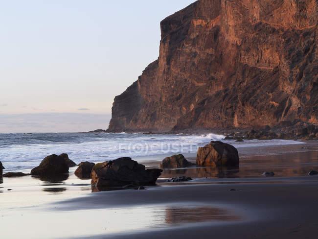 Spiaggia Playa del Ingles — Foto stock