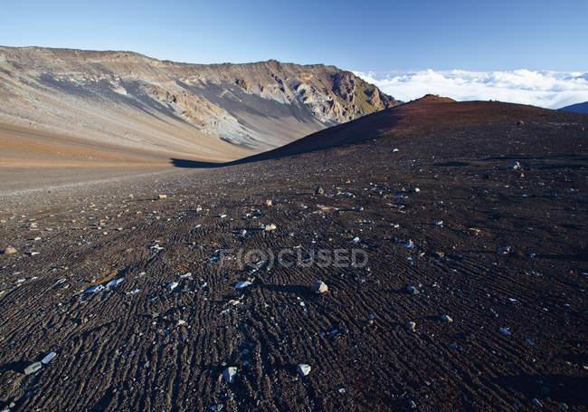 USA, View of volcanoes at Hawaii Haleakala National Park — Stock Photo