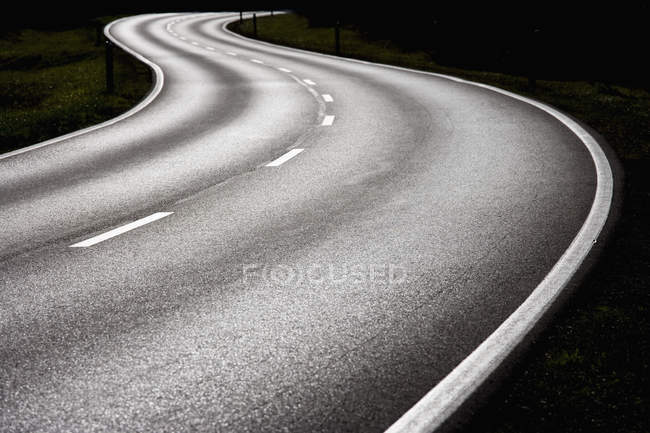 Germany, Bavaria, Federal Road near Sylvenstein — Stock Photo