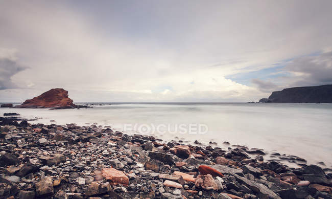 Portugal, View of Ponta Ruiva beach  during daytime — Stock Photo