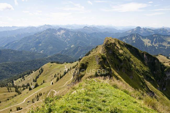 Les Alpes bavaroises et autrichiennes — Photo de stock