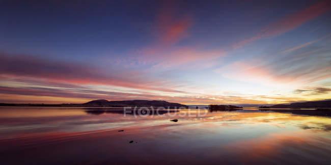 Regno Unito, Scozia, Veduta di Loch Leven — Foto stock