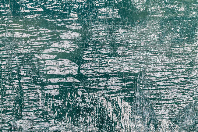 Close-up of green and white Grunge texture — Stock Photo