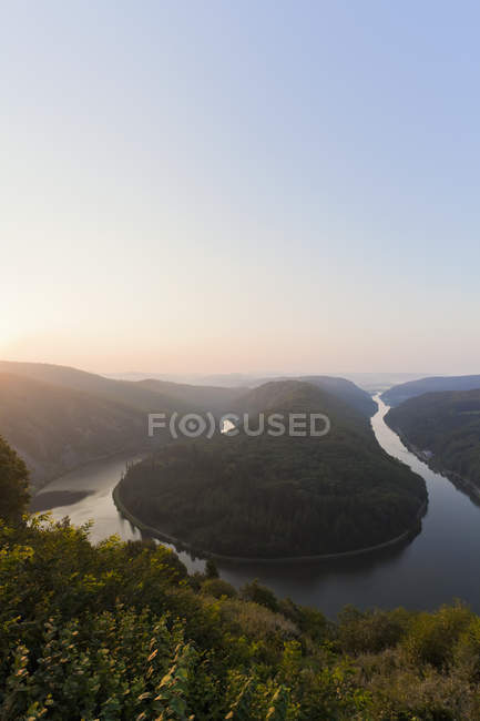 Germania, Saar, Veduta del fiume Saar durante il giorno — Foto stock