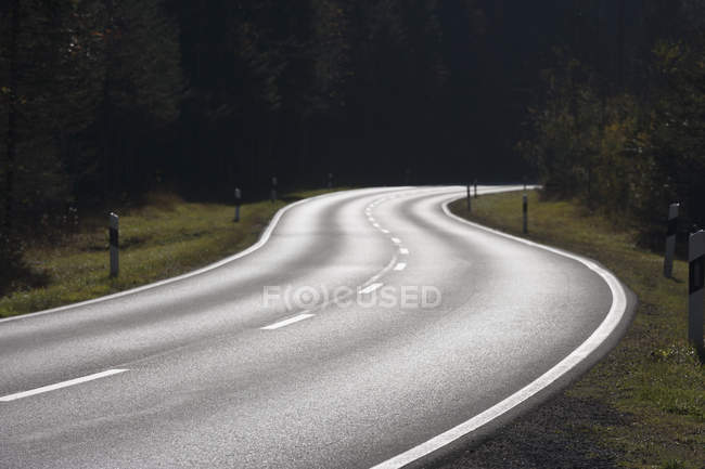 Germany, Federal Road near Sylvenstein — Stock Photo
