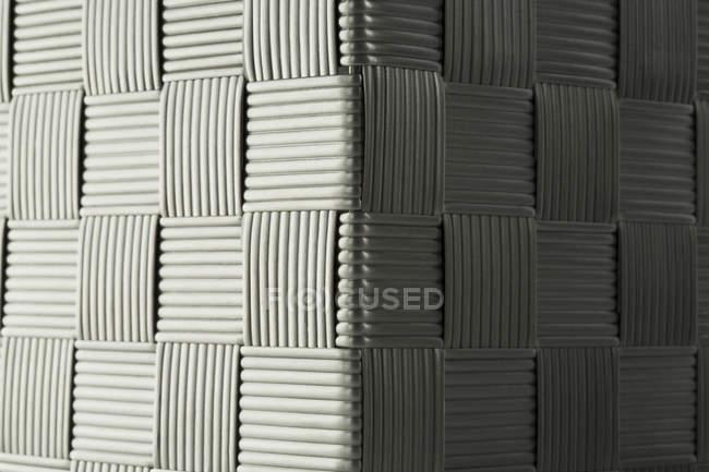 Criss structure en plastique croisé, gros plan — Photo de stock