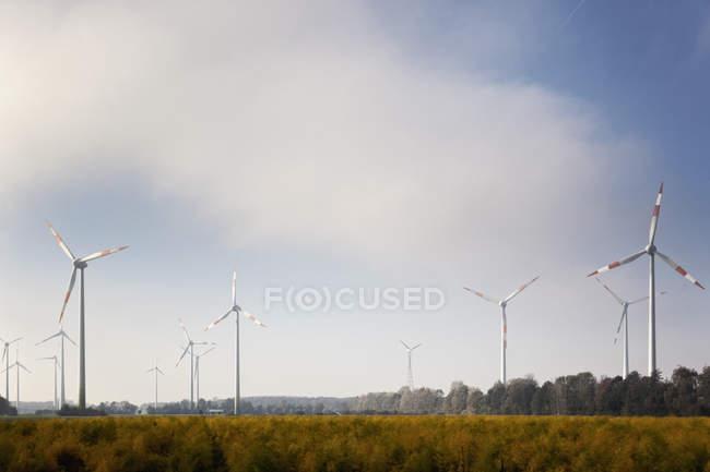 Wind power plant — Stock Photo